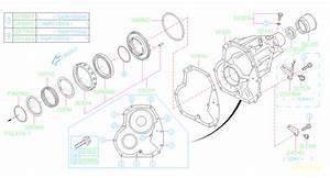 Subaru Tribeca Bracket Oxygen Sensor  2  Transmission