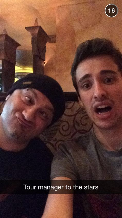 Jack And Their Tour Manager Jack Looks A Little Freaked