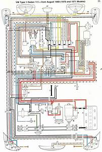The Entire Wiring Diagram For A 1970 Vw Beetle Fits On One Sheet Of Paper    Oddlysatisfying