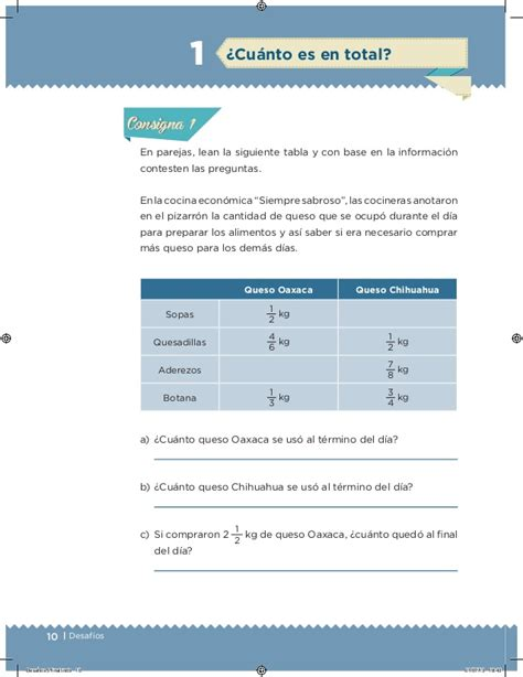 desafios matematicos quinto primaria quinto grado alumnos