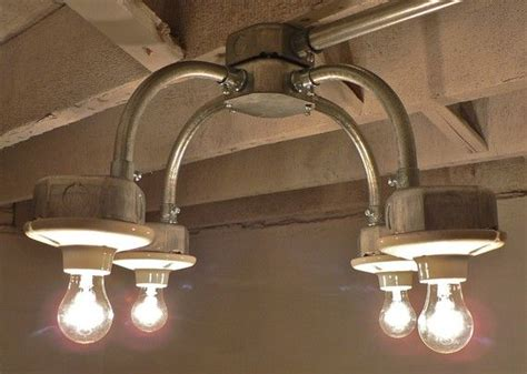 galvanized metal light fixture cool things to make