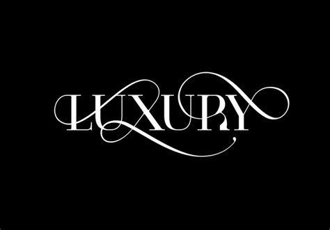 Luxury Brand Fonts Communicate More Than You Realise