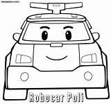 Poli Robocar Coloring Pages Printable Sheet Cartoon Road Safety Print Face Colorings Robocarpoli sketch template