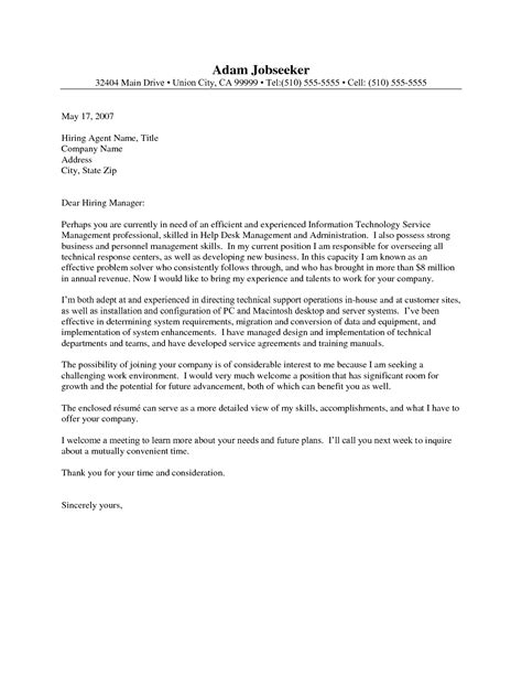 Cover Letter Help by Cover Letter Help Desk Manager It Helpdesk Cover Letter