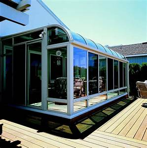 Ideas Back Deck Glass Window Framed Awning Covers Full