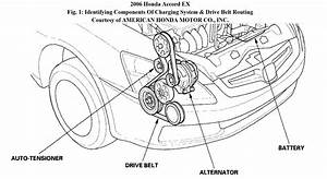 2006 Honda Civic Belt Tensioner Diagram