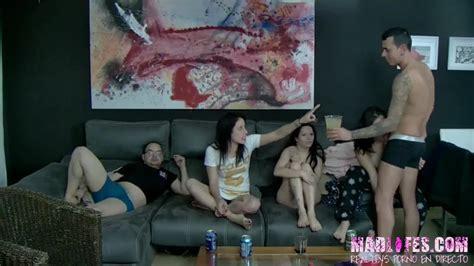 Mad Lifes Sexy Amateur Spanish Chicks Sharing One Hard