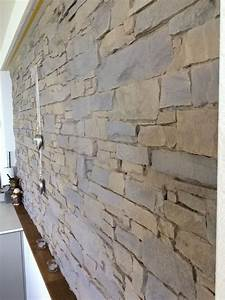 Wandgestaltung Mit Steinen : w nde gestalten steinoptik ~ Markanthonyermac.com Haus und Dekorationen
