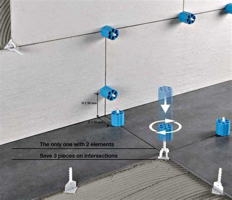 Kalibrierte Fliesen by Proleveling Systems Verlegesystem Kalibrierte Fliesen