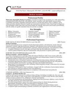 Front Desk Resume Format by Medical Assistant Professional Resume Sample Design Resumes