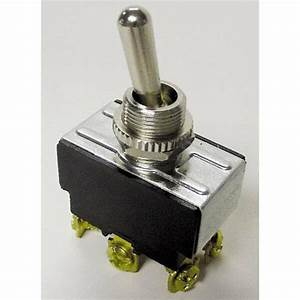 Gb Gardner Gsw 20 Amp Double Pole Double Throw Toggle Switch 6434575