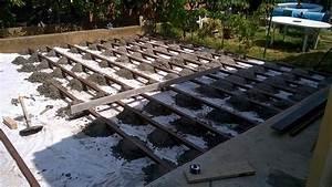 Construction Terrasse En Lames De Composite