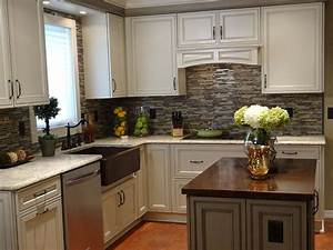20 small kitchen makeovers by hgtv hosts small kitchen With kitchen cabinet trends 2018 combined with oversized fork and spoon wall art