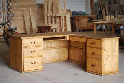 rustic  shaped desk diy computer desk computer desk design desk plans