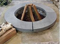 stone fire pit Natural Stone Fire Pit | Kits or Custom Designs | Lemke ...