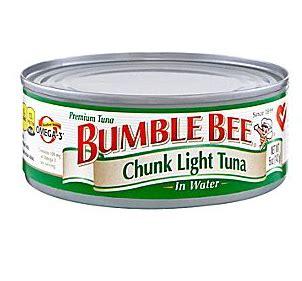 bumble bee chunk light tuna bumble bee pay 0 59 for tuna safeway