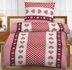 Bettwäsche Mit Herzen : ido micro fleece bettw sche mit herzen 135x200 80x80 cm rot wei ebay ~ Watch28wear.com Haus und Dekorationen