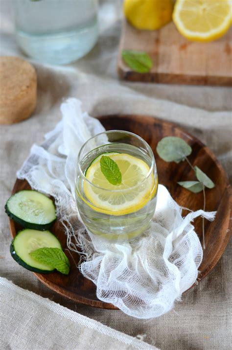 eau de cuisine eau de concombre citron et menthe detox blogs de cuisine