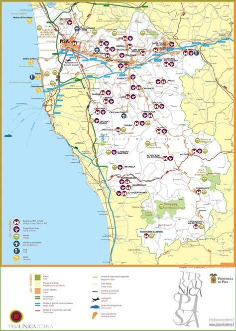 maps update 700896 pisa tourist map 10 toprated