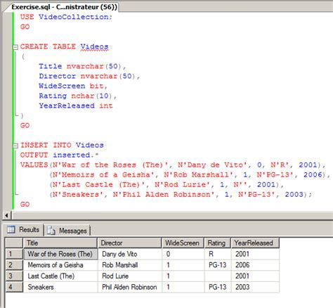 sql insert into new table microsoft sql server records creating records