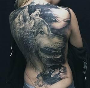 Loup Tatouage Signification : art and tattoo big tattoo ~ Dallasstarsshop.com Idées de Décoration