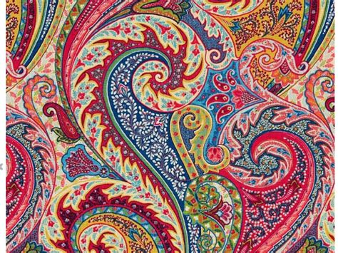 Upholstery Fabric Bc by Paisley Linen Fabric Modern Paisley Upholstery Fabric By The
