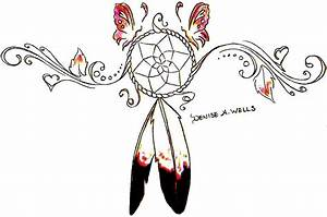 Dreamcatcher Tattoo Design by Denise A. Wells ...