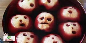 Recette Halloween Salé : recette t tes de pommes flottantes pour halloween ~ Melissatoandfro.com Idées de Décoration