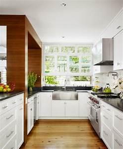 amenager une petite cuisine 40 idees pour le design With kitchen cabinets lowes with ramette de papier a4