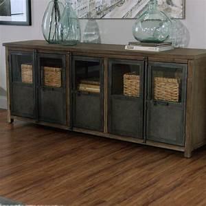 Metal And Woods : large wood and metal langley storage cabinet world market ~ Melissatoandfro.com Idées de Décoration
