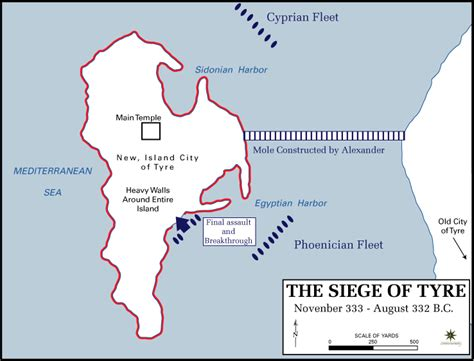 Siege Of Tyre (332 Bc)