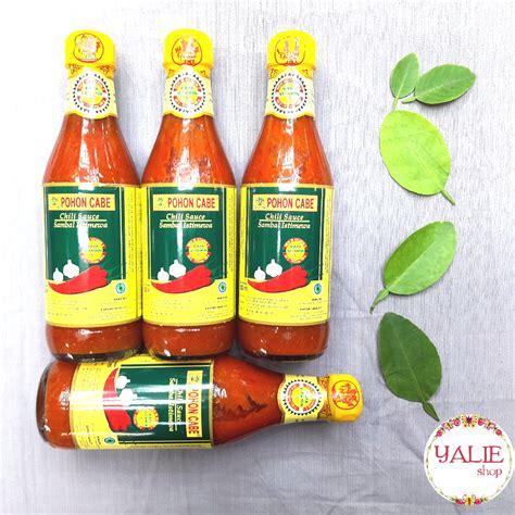 saos sambal pohon cabe 330ml 330ml saus sambal pohon cabe elevenia