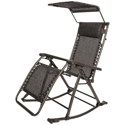bliss hammocks zero gravity patio lounge chair rocker