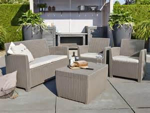 Salon De Jardin Allibert Corona by Allibert Corona Lounge En Cannage Synth 233 Tique Lehner Versand