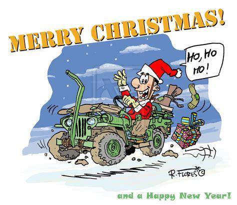 christmas jeep card merry christmas everyone jeep wrangler forum