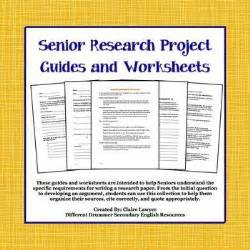 Research Paper Process Worksheet
