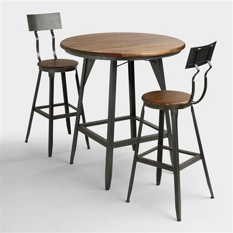 Hudson Pub Table Collection  World Market. Built In Kitchen Table. Antique Ladies Secretary Desk. Mission Style End Tables. 5 Drawers Dresser. Office Desk L Shaped. Black Round Table. Best Office Desk Accessories. Draw Leaf Table