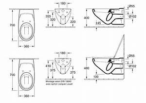 Cuvette Wc Pmr : cuvette suspendue rallonge o novo vita villeroy et boch ~ Premium-room.com Idées de Décoration