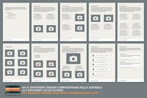 brand guide template ppt brand guidelines template presentation templates on creative market