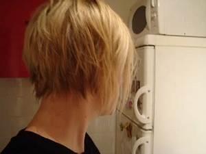 Carré Très Plongeant : coiffure carre plongeant nuque courte ~ Nature-et-papiers.com Idées de Décoration