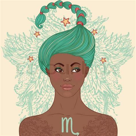zodiac beautiful girls set african american version