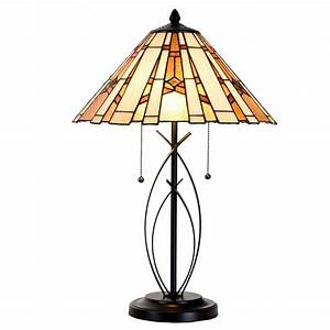 cloud mountain tiffany style table lamp modern base With mt 8 table lamp