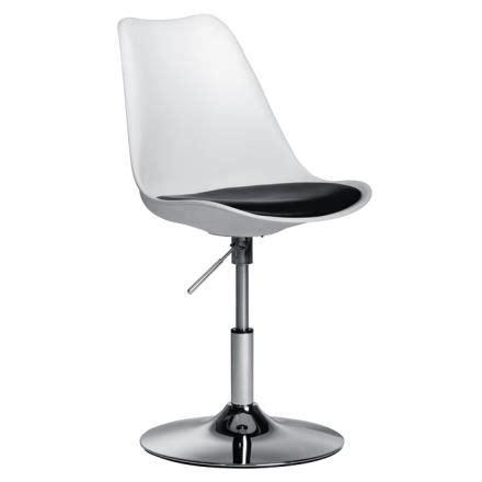 siege tulipe chaise de bureau blanche pied tulipe achat vente