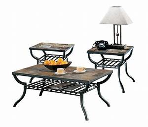 ashley furniture antigo 3pc coffee table set the classy home With antigo coffee table
