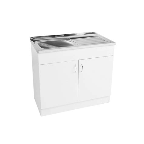 Ready Made Kitchen Drawers by Commercial Sink Painted Hmr Cabinet 1000 Right