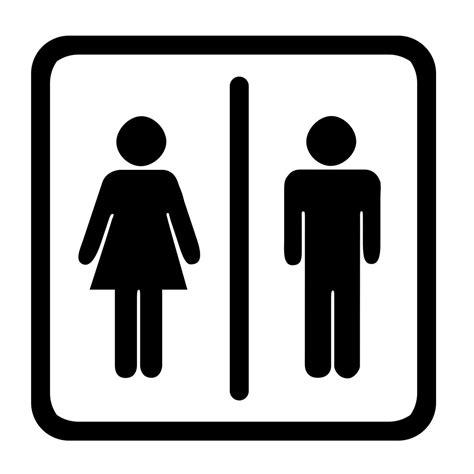 Bathroom Restroom Sign Clip Art