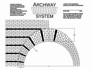 Stone Arch Angles Diagram