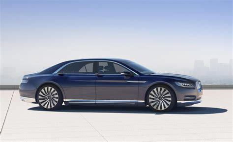 lincoln continental lincoln continental concept concept cars diseno art