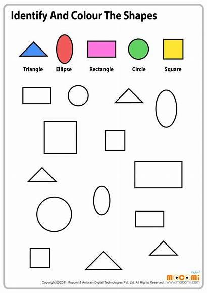 Shapes Worksheet Similar Colour Maths Mocomi Printables