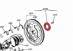 Ford Bb V8 Fe Engine C6 Fmx Flexplate Reinforcing Plate